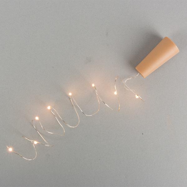 Fleurish Home Wine Bottle Cork LED Lights