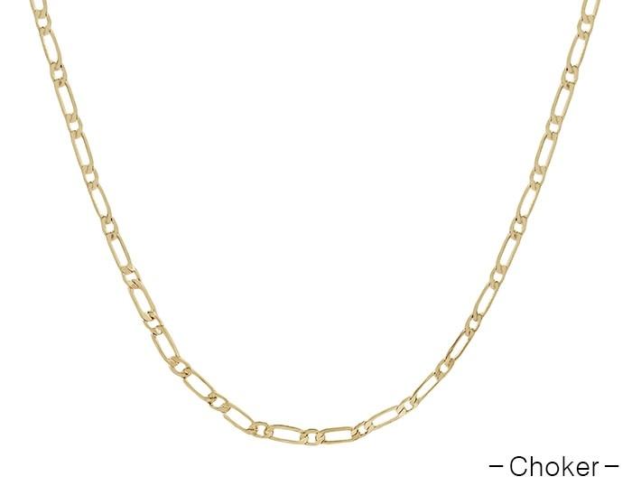 Fleurish Home Gold Chain Choker Necklace