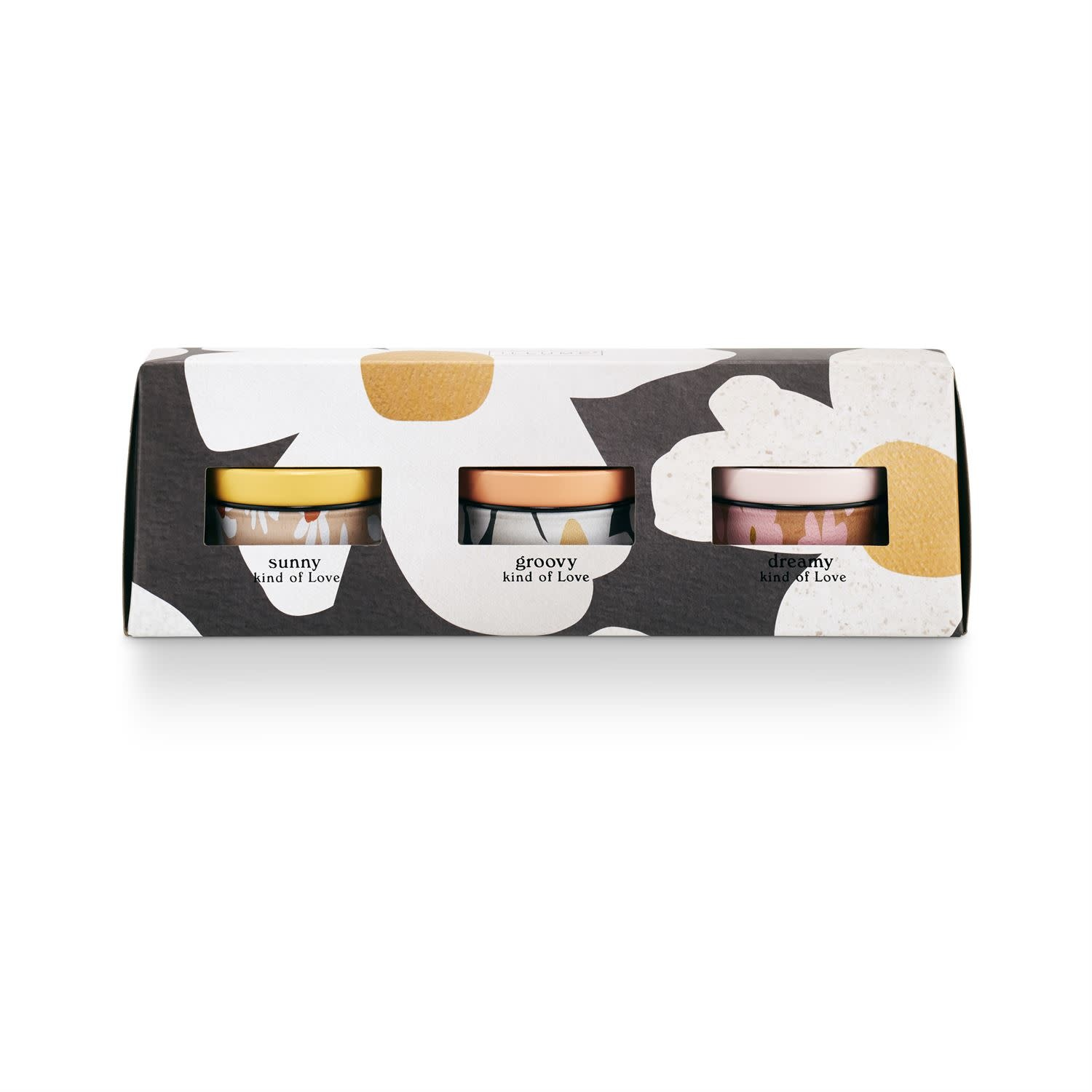 Illume Love Triangle Tin Gift Set