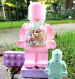 Hopscotch Chalk Pink Bricks Chalk Set