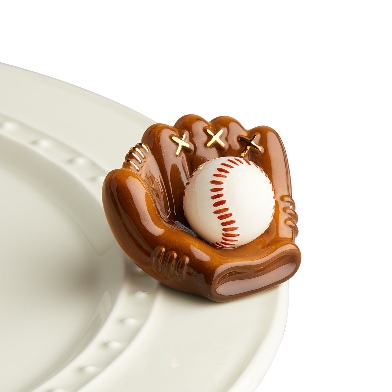 nora fleming catch some fun mini (baseball mitt and baseball)