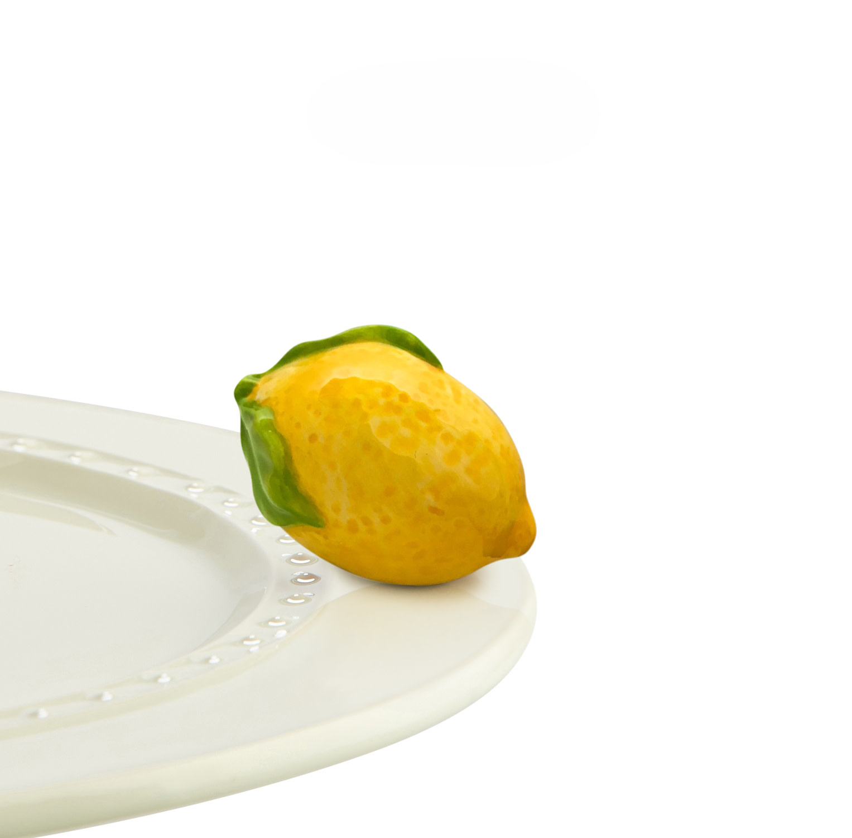 nora fleming lemon squeeze mini