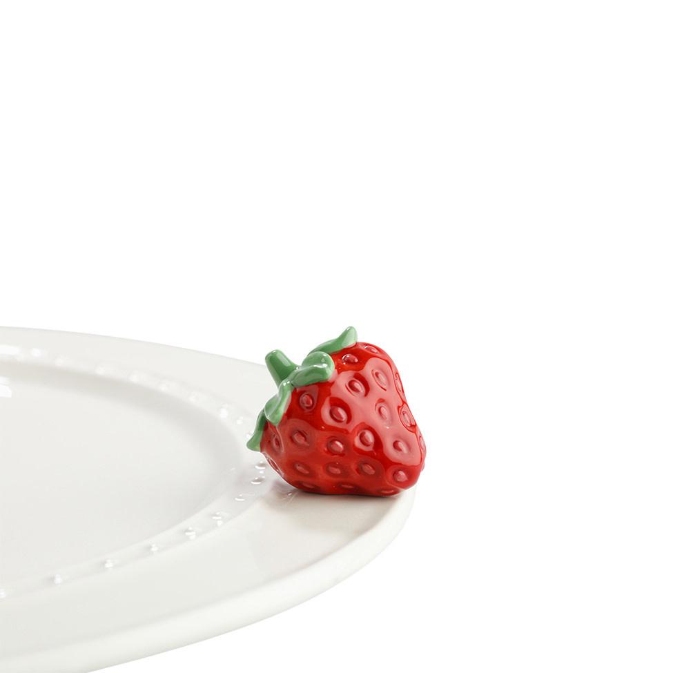 nora fleming juicy fruit mini (strawberry)