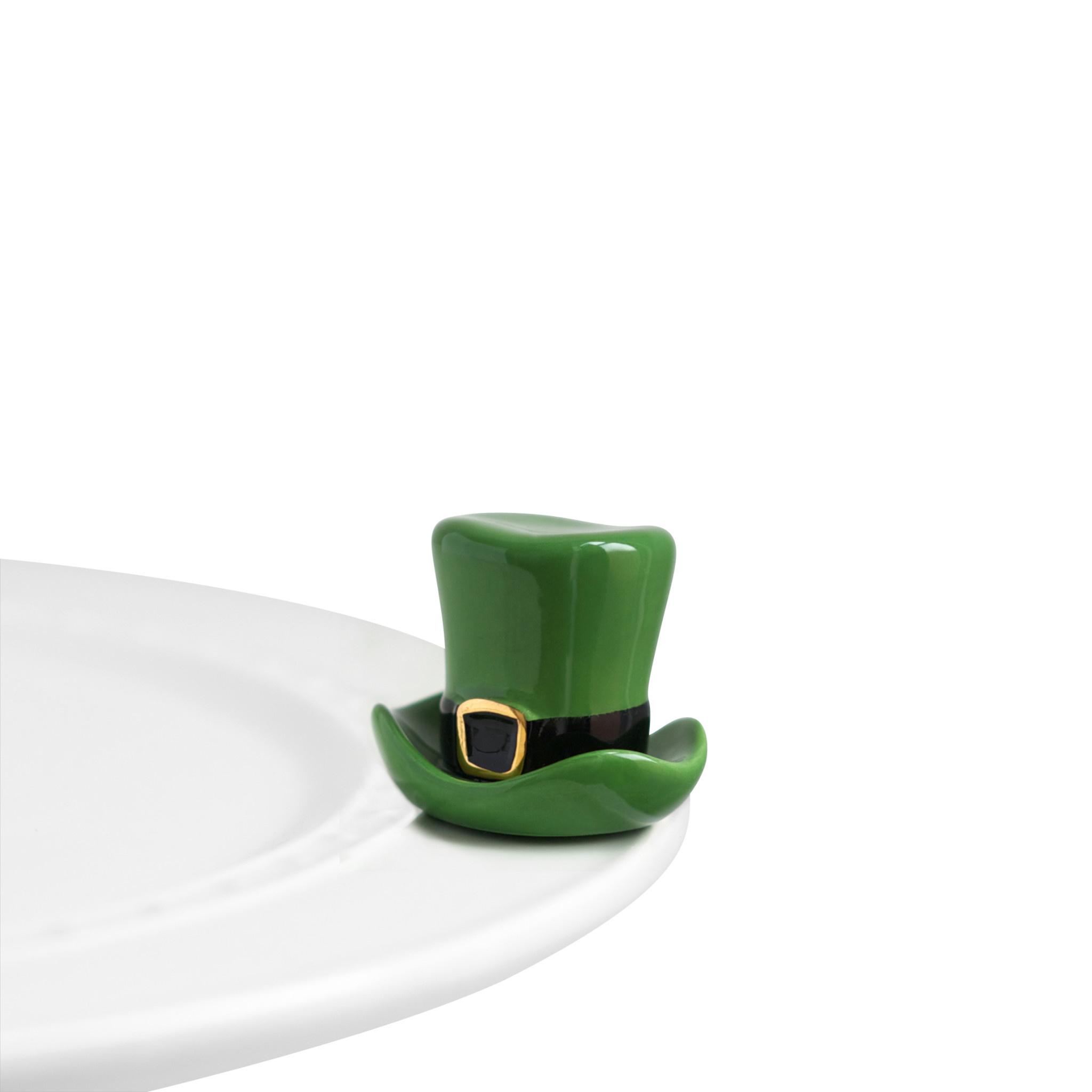 nora fleming spot o' irish mini (leprechaun hat)