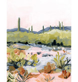Laurie Anne Art Bright Desert Vertical Canvas Print 8x10
