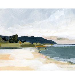 Laurie Anne Art North Shore Horizontal Canvas Print 11x14