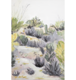 Laurie Anne Art Morning Desert Vertical Canvas Print 8x10