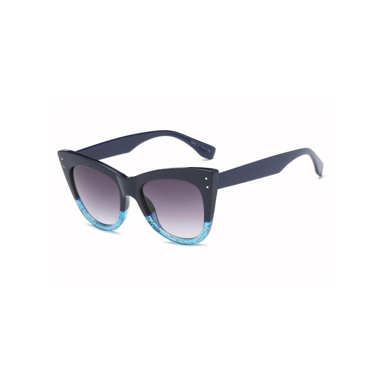 Fleurish Home Cat Eye Fashion Sunglasses Navy/Blue