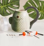 Fleurish Home Gift Fishing Mug