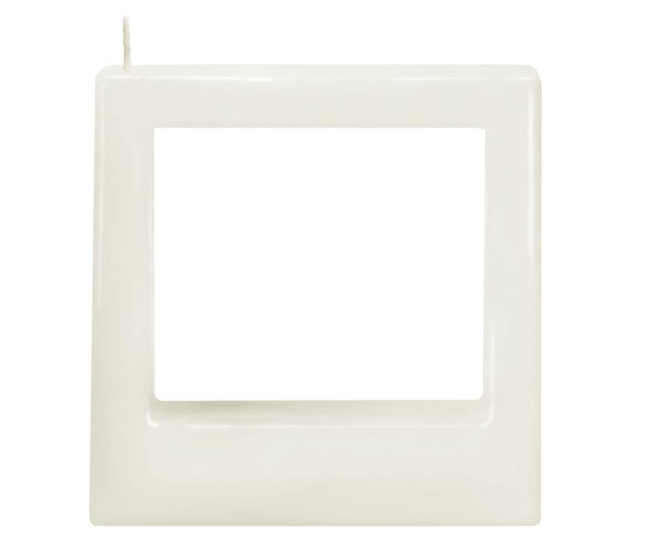 Fleurish Home Multiflame Candle Quadra Tre White, Unscented