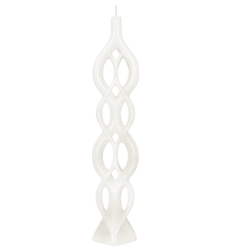Fleurish Home Multiflame Candle Lela White, Unscented