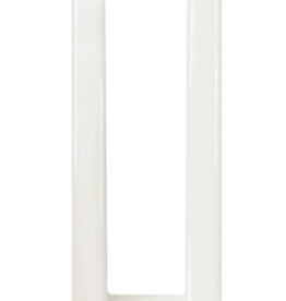 Fleurish Home Multiflame Candle Quadra Due White, Unscented