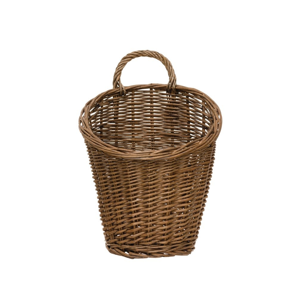 Fleurish Home Rattan Wall Basket
