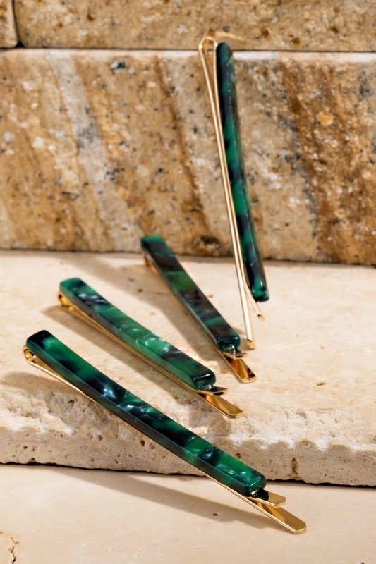 Fleurish Home Dainty Acetate Hair Pin Pair