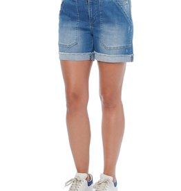 Democracy Mid Blue Vintage High Rise Shorts *last chance for season