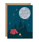 Inklings Paperie Campfire Moon Scratch-off Card