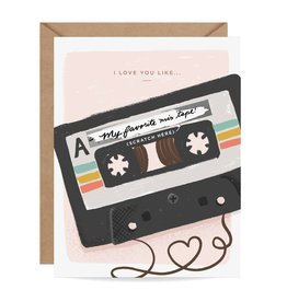 Inklings Paperie Mix Tape Scratch-off Card