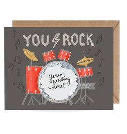 Inklings Paperie You Rock Scratch-off Card