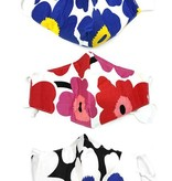 Fleurish Home Pop Art Flower Fashion Mask (various colors)