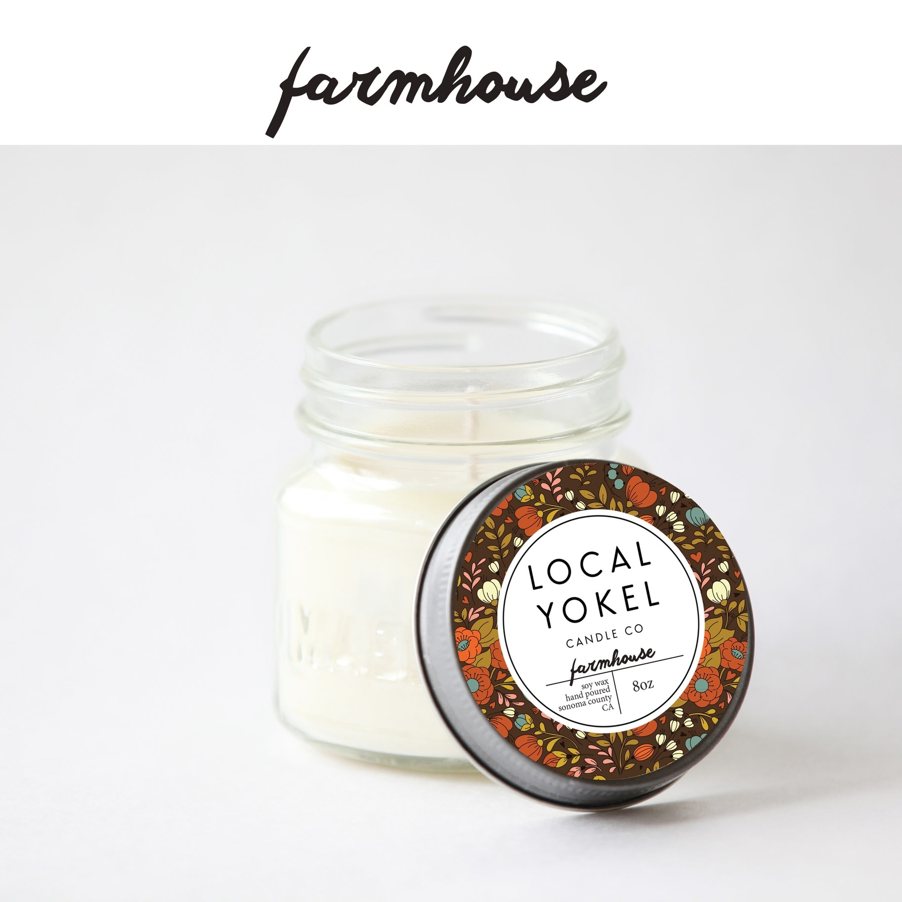 Local Yokel Farmhouse Candle 8oz