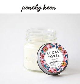 Local Yokel Peachy Keen Candle 8oz