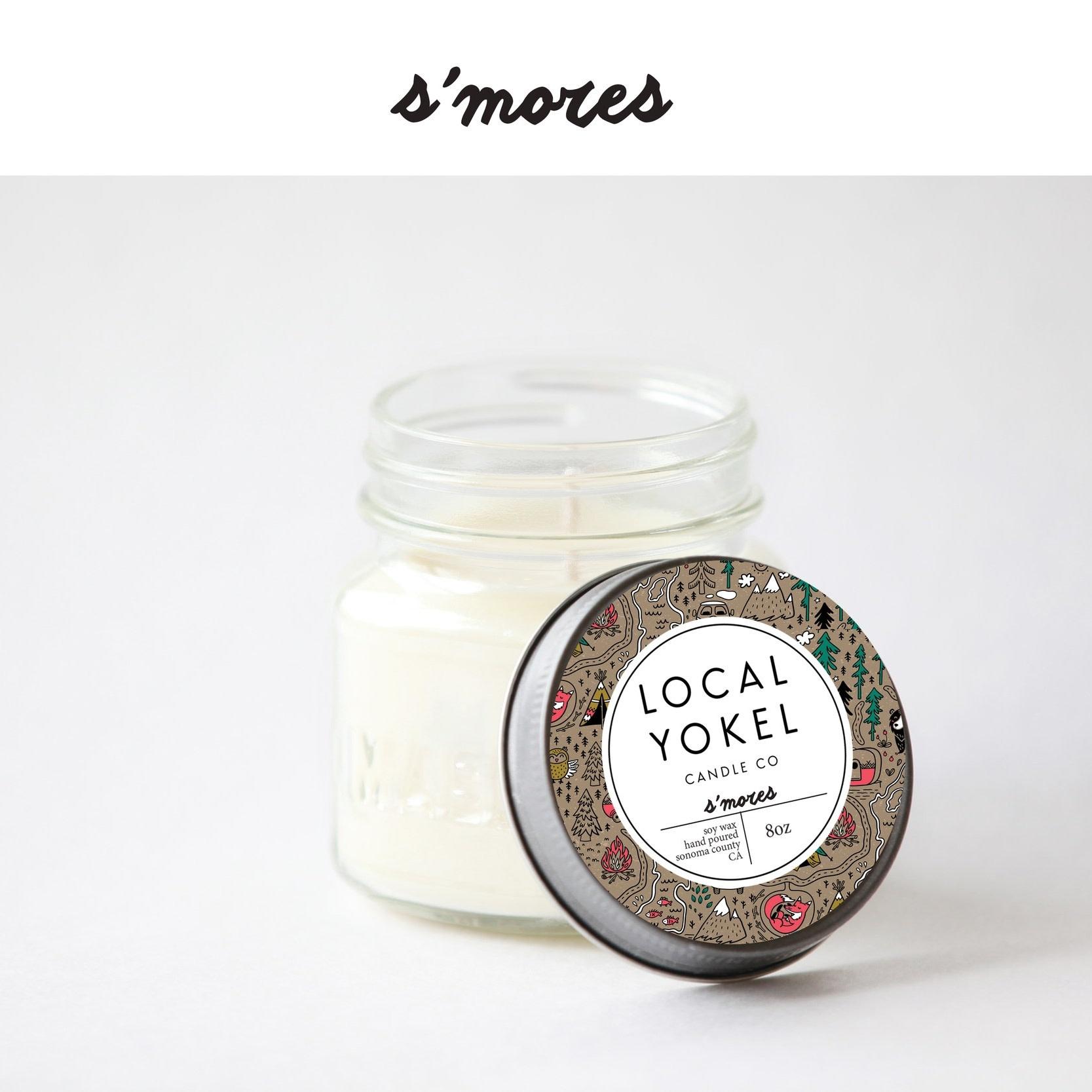 Local Yokel S'mores Candle 8oz
