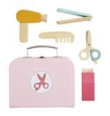 Mudpie Hair Stylist Wood Toy Set