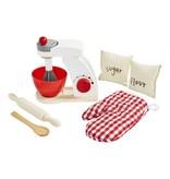 Mudpie Wood Mixer Baking Toy Set