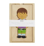Mudpie BOY BOXED DRESS UP WOOD TOY