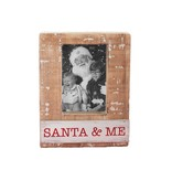 Mudpie Santa And Me Frame
