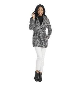 Mudpie Albany Leopard Coat Black-M