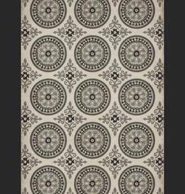 Spicher & Company Pattern #43 Vintage Vinyl Floorcloth Peace 20x30