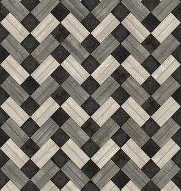 Spicher & Company Artisanry  Woodson Vintage Vinyl Floorcloth  Ashbee 20x30