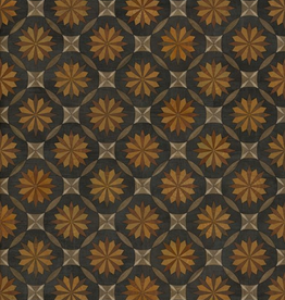 Spicher & Company Artisanry Roycrofter Vintage Vinyl Floorcloth  As it Seems to Me 20x30