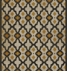 Spicher & Company Pattern #31 Vintage Vinyl Floorcloth Rajha 20x30