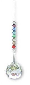 Fleurish Home Chakra Crystal Rainbow with 20mm ball