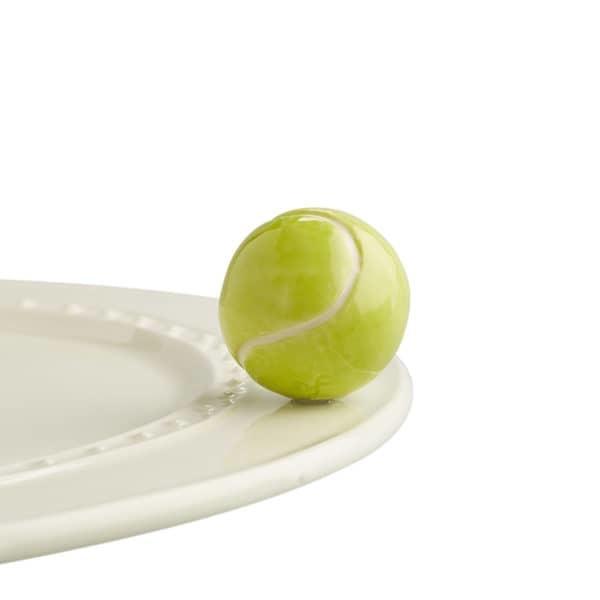 nora fleming game set match! mini (tennis ball)