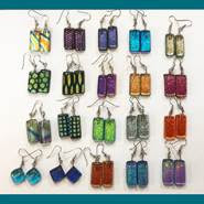 Fleurish Home Sea Glass Earrings (per pair--various styles)