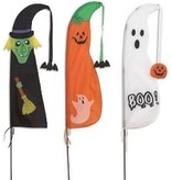 "Fleurish Home Halloween Nylon Yard Flag (choice of 3 designs) 60""H"