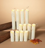 Fleurish Home S/12 Battery Operated Lighted Spooky Halloween Hanging Candles