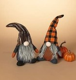 "Fleurish Home Plush Halloween Gnome Figure (choice of 2 styles) 12"""