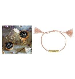 Fleurish Home Joy In A Jar Bracelet (xoxo)