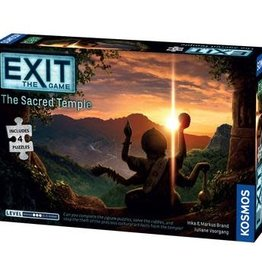 EXIT: The Game EXIT Game: The Sacred Temple (with Puzzle)