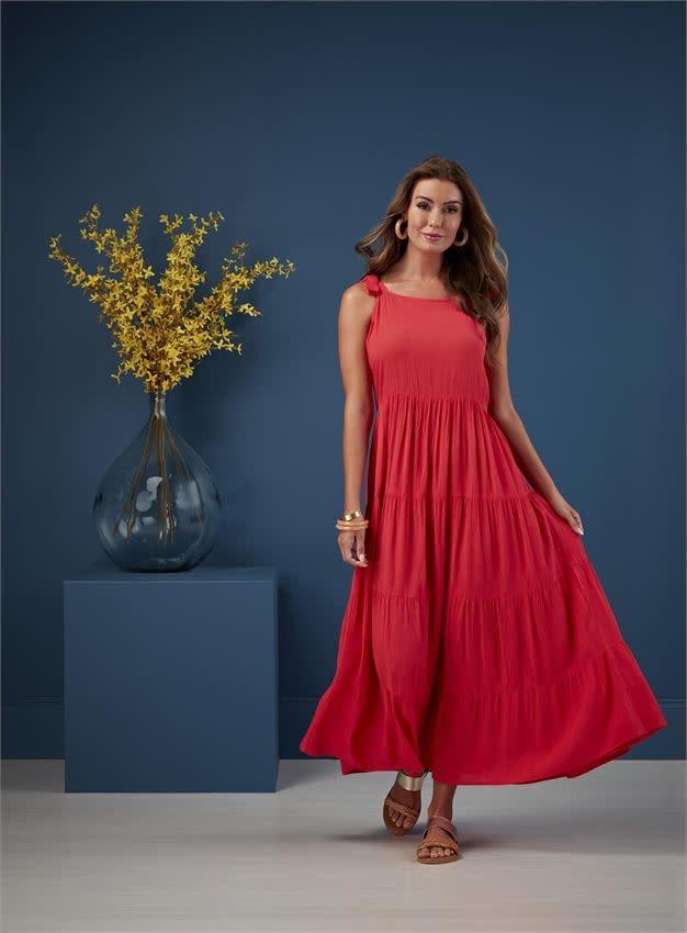 Mudpie Mimi Tiered Maxi Dress *last chance