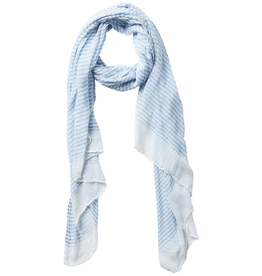 Fleurish Home Tiny Stripe Insect Shield Scarf - Blue
