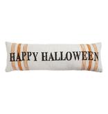 Mudpie Halloween Stripe Long Pillow
