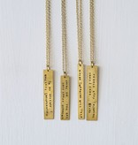 Fleurish Home Snarky Necklace *last chance