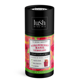 LUSH Strawberry Basil Lemonade Wine Slushie Mix
