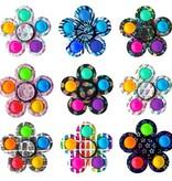 Top Trenz OMG MEGA Pop FLOWER Fidget Spinner Popper 2-in-1 (various styles)