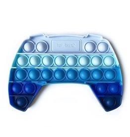 Top Trenz Blue Ombre Video Game Controller OMG Pop Fidgety Popper